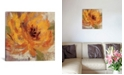 "iCanvas Fiery Dahlias I by Silvia Vassileva Gallery-Wrapped Canvas Print - 26"" x 26"" x 0.75"""