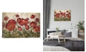 """iCanvas Daydreaming Flowers Red by Silvia Vassileva Gallery-Wrapped Canvas Print - 12"""" x 18"""" x 0.75"""""""