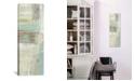 "iCanvas Shades of Celedon Ii by Silvia Vassileva Gallery-Wrapped Canvas Print - 36"" x 12"" x 0.75"""