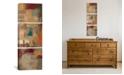 "iCanvas Oriental Trip Panel Ii by Silvia Vassileva Gallery-Wrapped Canvas Print - 48"" x 16"" x 1.5"""