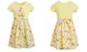 Disney Little Girls Belle Roses Dress