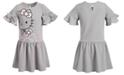 Hello Kitty Little Girls Waffle-Knit Bow Dress