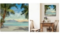 """Courtside Market A Found Paradise I 16"""" x 16"""" Gallery-Wrapped Canvas Wall Art"""
