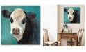 """Courtside Market Miss Opal 16"""" x 16"""" Gallery-Wrapped Canvas Wall Art"""
