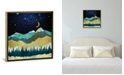 """iCanvas """"Snow Night"""" by Spacefrog Designs Gallery-Wrapped Canvas Print"""
