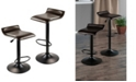 Winsome Wood Paris Set of 2 Airlift Adjustable Swivel Stool