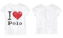 Polo Ralph Lauren Baby Girls Jersey Cotton T-Shirt