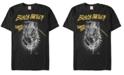 Marvel Men's Black Panther Warrior King and Protector Short Sleeve T-Shirt