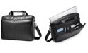 Samsonite Leather Slim Portfolio Laptop Briefcase