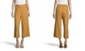 John Paul Richard Linen Cropped Pants, Petite