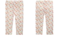 First Impressions Baby Girls Ditsy Floral-Print Cotton Leggings, Created for Macy's