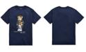 Polo Ralph Lauren Toddler Boys Collegiate Bear Cotton T-Shirt
