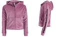 Ideology Big Girls Velour Zip-Up Hoodie, Created for Macy's