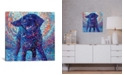 """iCanvas Canines & Color by Iris Scott Wrapped Canvas Print - 18"""" x 18"""""""