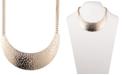 "Givenchy Gold-Tone Pavé Statement Necklace, 16"" + 3"" extender"