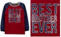 Carter's Little & Big Boys Brother-Print Cotton T-Shirt