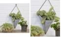 VIP Home & Garden Metal Wall Pocket