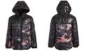 Michael Kors Toddler Boys Camo-Print Hooded Puffer Jacket