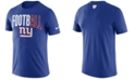 Nike Men's New York Giants Dri-Fit Cotton Football All T-Shirt