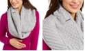 Michael Kors Patchwork Cable Infinity Scarf