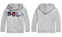 Polo Ralph Lauren Toddler Boys Hooded Jersey Shirt