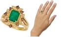 Le Vian Costa Smeralda Emerald (1-1/5 ct. t.w.) & Diamond (1/2 ct. t.w.) Ring set in 14k Gold