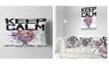 "Design Art Designart Hippopotamus Watercolor Illustration Contemporary Animal Throw Pillow - 12"" X 20"""