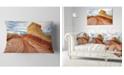 "Design Art Designart Paria Plateau In Northern Arizona Landscape Printed Throw Pillow - 12"" X 20"""