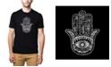 LA Pop Art Men's Premium Word Art T-Shirt - Hamsa