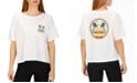 Hurley Cotton Sun Stripes Graphic T-Shirt