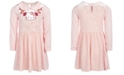 Hello Kitty Little Girls Collared Stars & Hearts Dress