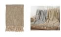 Saro Lifestyle Foil Design Throw