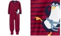 Carter's Little & Big Boys Footed Fleece Penguin Pajamas