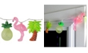 Northlight Battery Operated Tropical Summer LED String lights