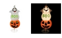 Northlight Lighted Spooky Boo Ghost on Jack-O-Lantern Pumpkin Halloween Decoration