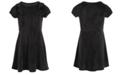 Epic Threads Little Girls Ruffled Velvet Dress, Created For Macy's
