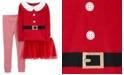 Carter's Toddler Girls 3-Pc. Santa Tutu Pajamas Set