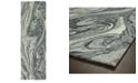 """Kaleen Marble MBL02-75 Gray 2'6"""" x 8' Runner Rug"""