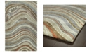"Kaleen Marble MBL07-75 Gray 5' x 7'9"" Area Rug"