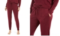Alfani Cozy Knit Jogger Pajama Pants, Created For Macy's