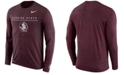 Nike Men's Florida State Seminoles Velocity Travel Long Sleeve T-Shirt
