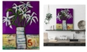 "Courtside Market William DeBilzan Bouquet 15 - 16""x20""x2"" Gallery-Wrapped Canvas Wall Art"