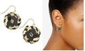 INC International Concepts INC Gold-Tone Sequin Flower Drop Earrings, Created For Macy's