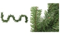 "Northlight 9' x 8"" Canadian Pine Artificial Christmas Garland - Unlit"