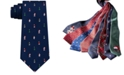 Tommy Hilfiger Men's Festive Tree and Polar Bear Tie