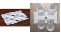 Ambesonne Shabby Flora Place Mats, Set of 4