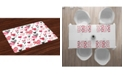 Ambesonne Valentine Place Mats, Set of 4