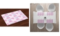 Ambesonne Flowers Place Mats, Set of 4