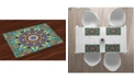 Ambesonne Psychedelic Place Mats, Set of 4