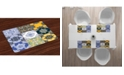Ambesonne Moroccan Place Mats, Set of 4
